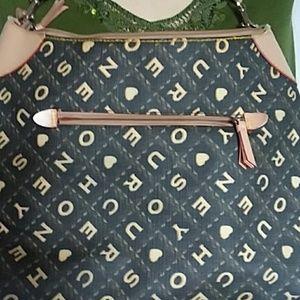 Vegan or faux leather purse